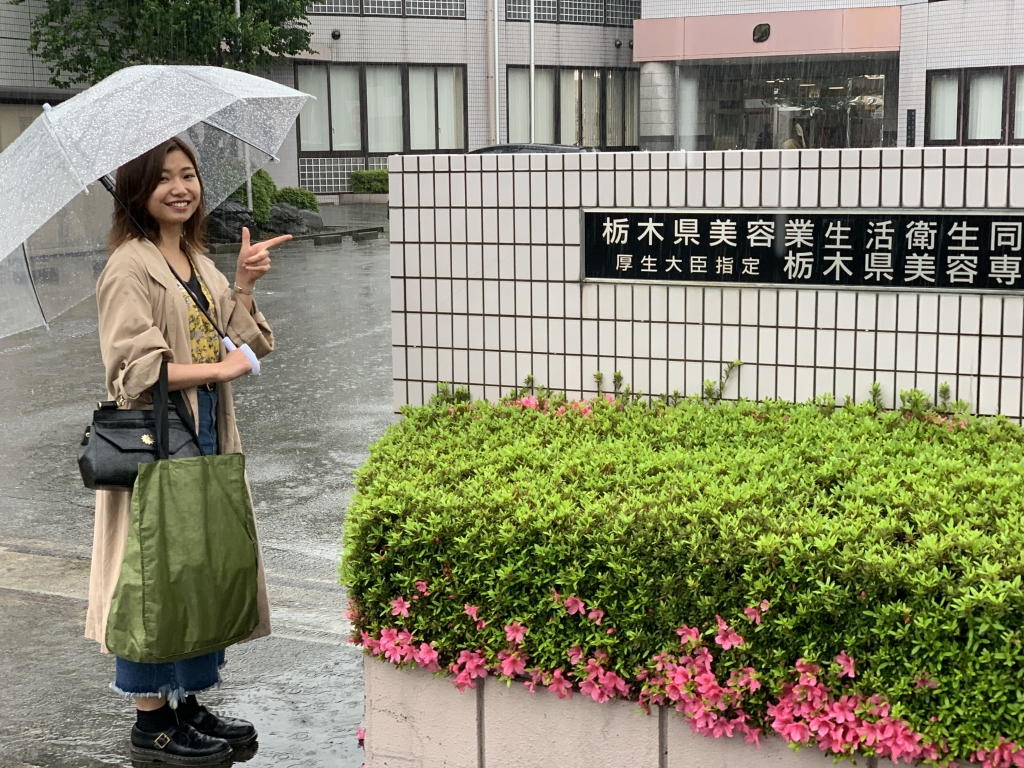 悪天候の中、栃木県 へ!