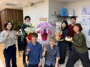 上板橋スタッフとオーナーで記念写真!
